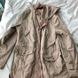 French connection raincoat